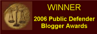 2006 PD Blog Awards Winner